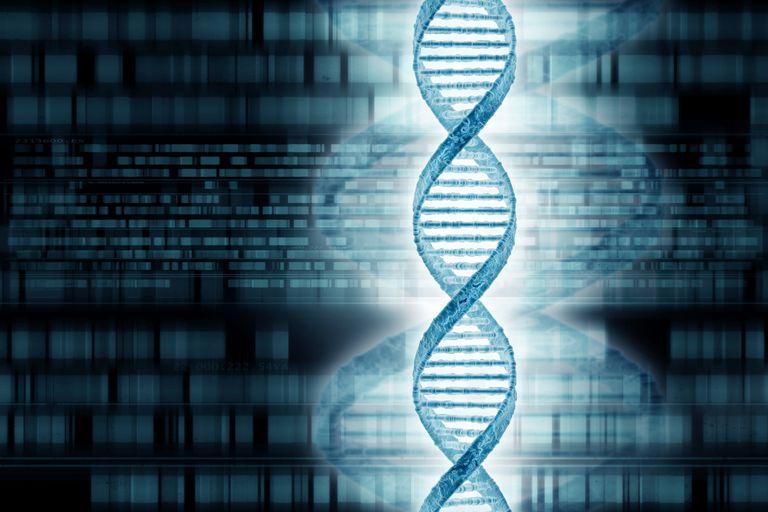 Genetics research, conceptual artwork