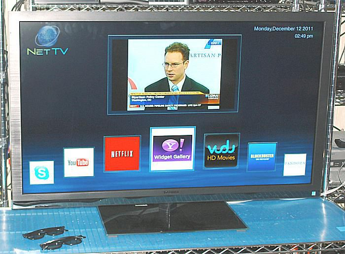 Toshiba 47TL515U 3D Network LED/LCD TV - Photo - Front View