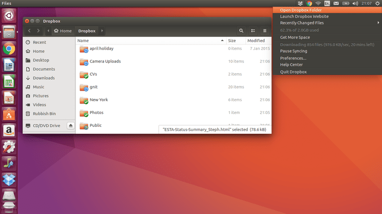 Dropbox For Ubuntu