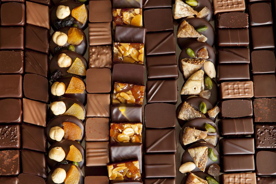 Paris is a major destination for gourmet chocolates.
