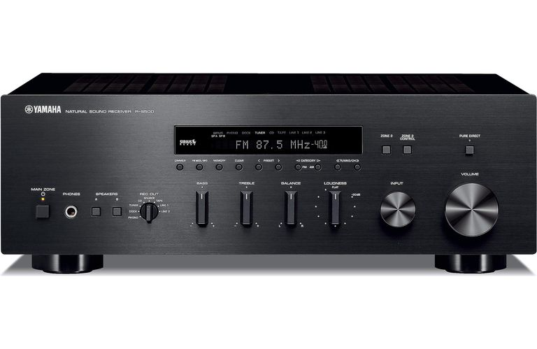 The front of the Yamaha R-S700 stereo receiver