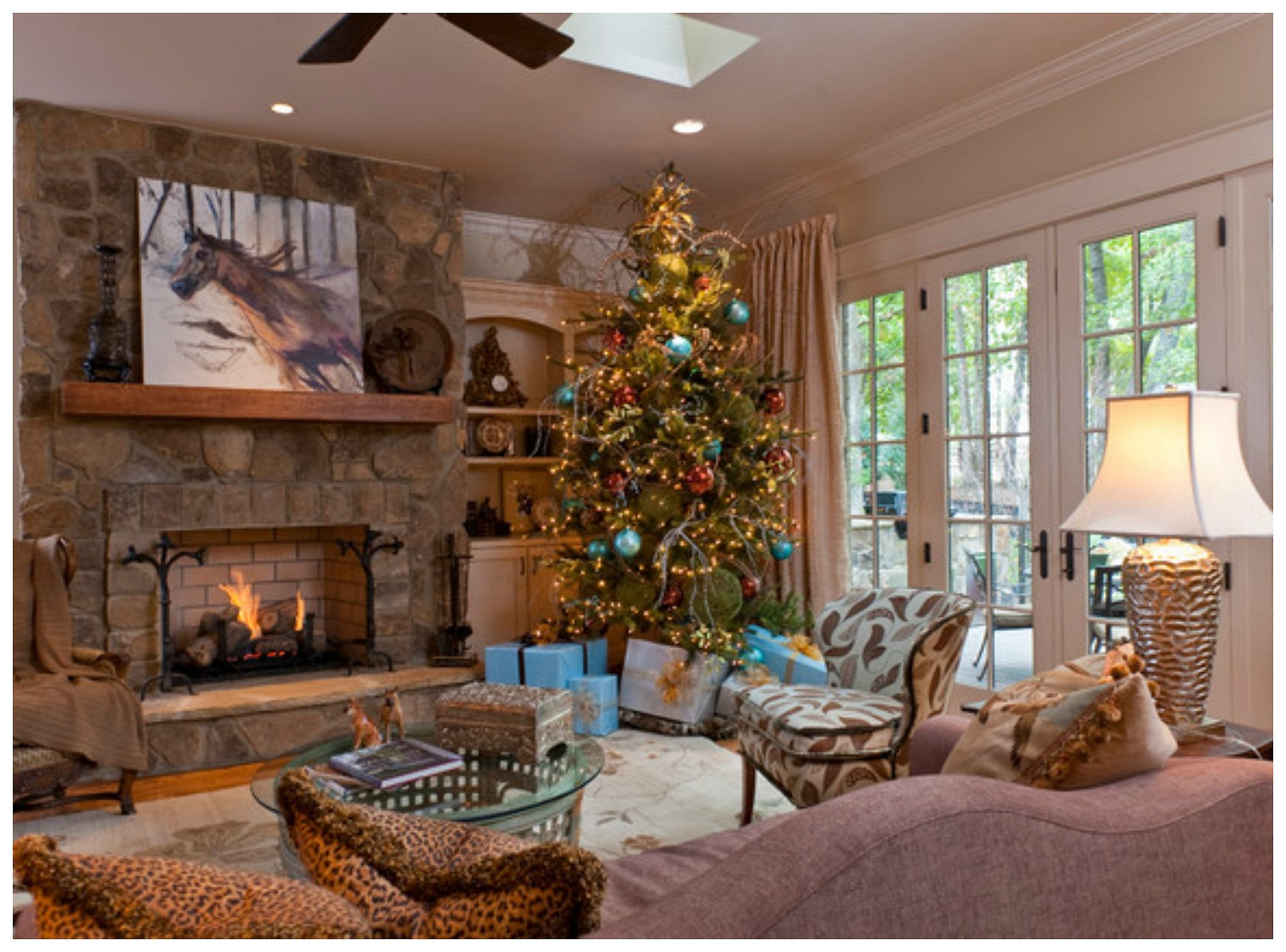 Christmas decorated rooms - Christmas Decorated Rooms 33