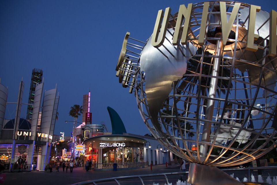 Universal Studios Hollywood Globe at CityWalk
