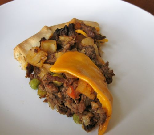 One Dish Meals - Meat Pie Recipe