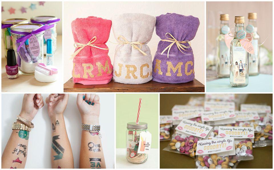 Cute And Simple Bachelorette Party Favor Ideas