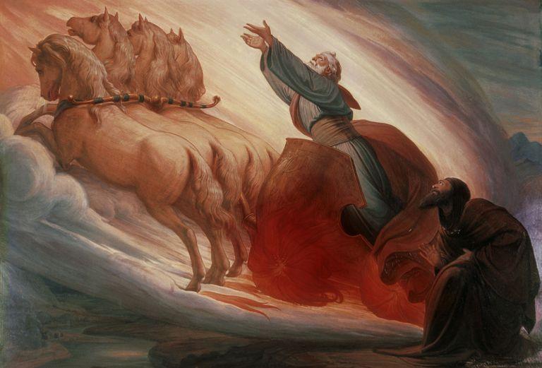 Elijah by Edward Jakob von Steinle