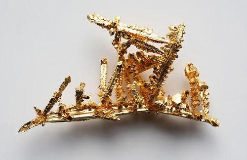These are crystals of pure gold metal.