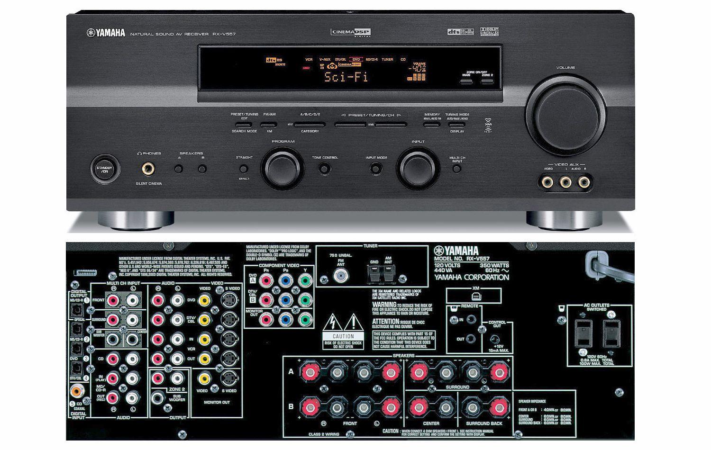Yamaha Rx V  Turntable
