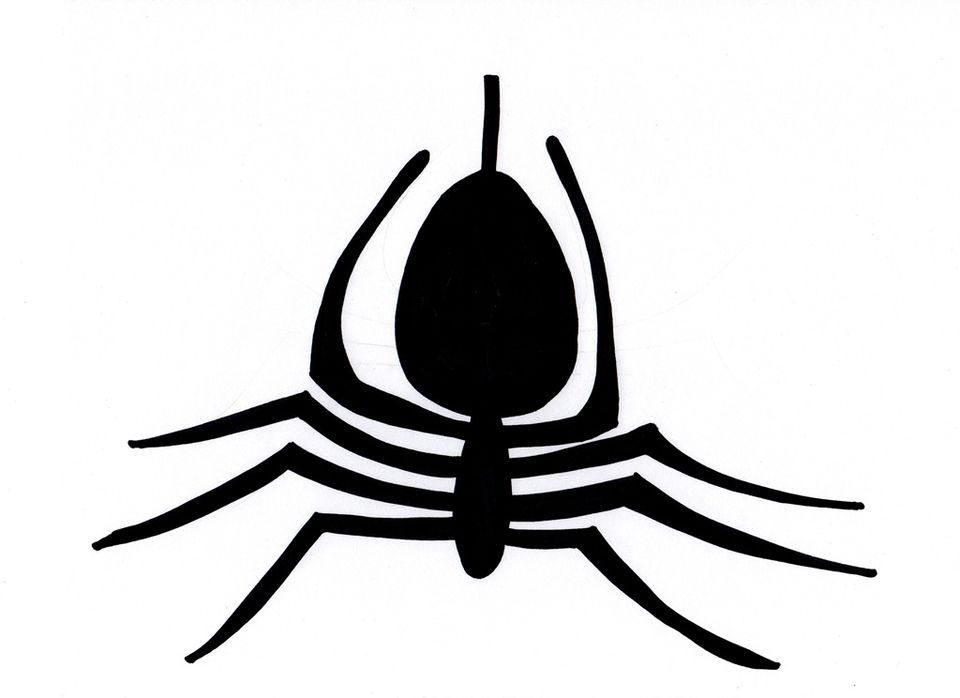 Spider Pumpkin Carving Pattern - Spidey