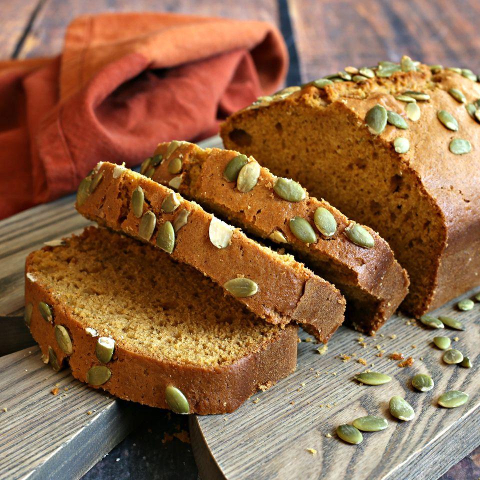 Pumpkin and Tahini Bread