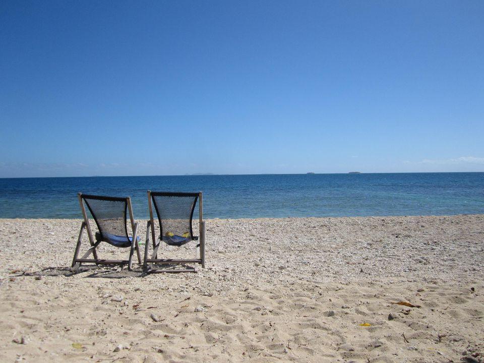 South Sea Island beach
