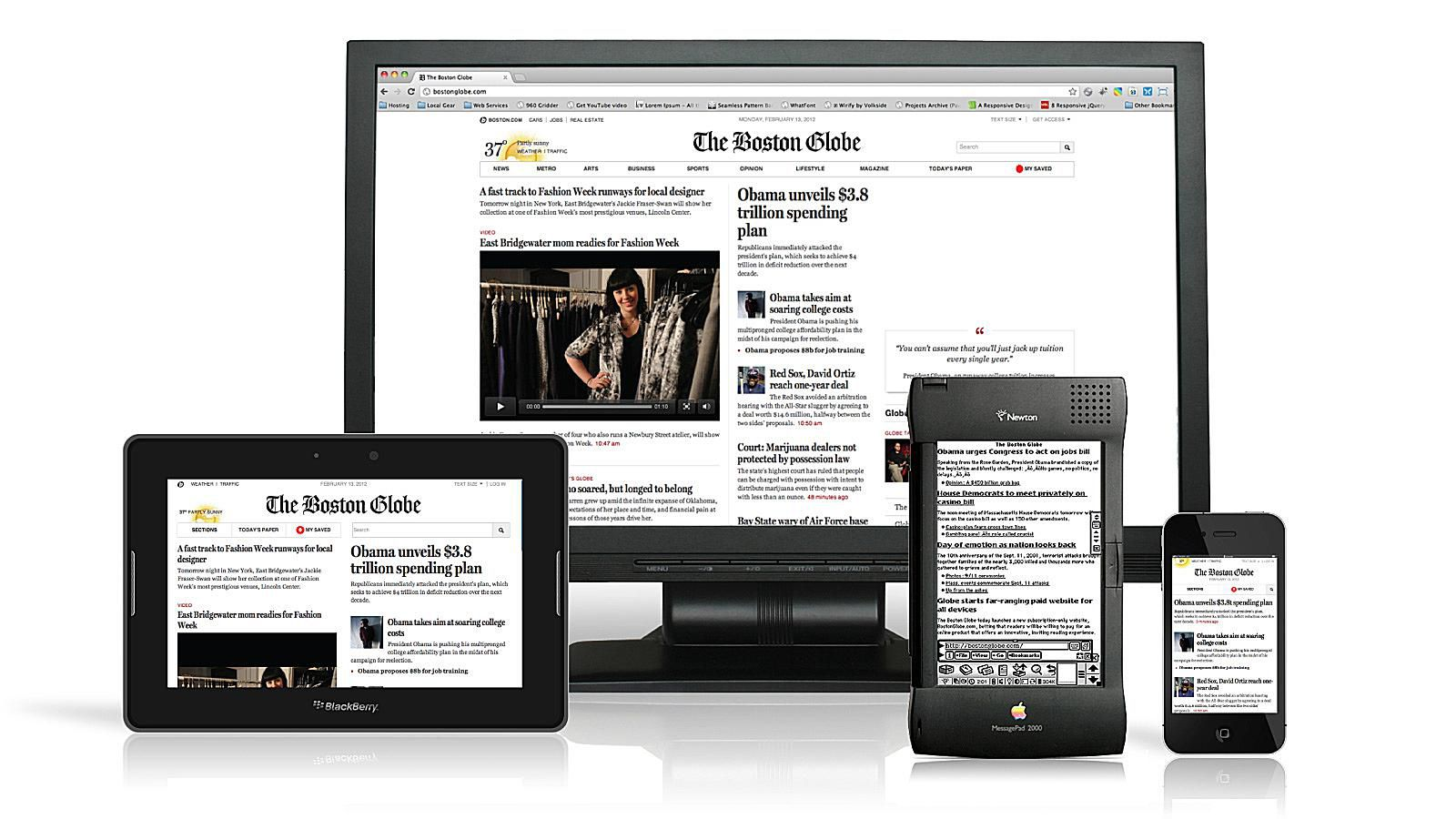 Responsive web design for mobile an introduction for Mobel website