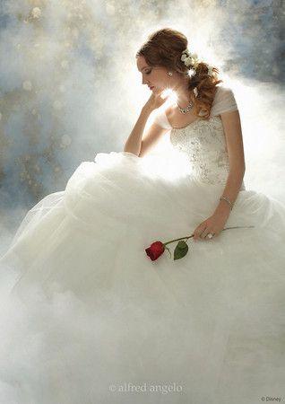 Belle Disney Princess Wedding Dress Alfred Angelo