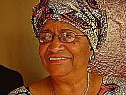 President Ellen Johnson-Sirleaf of Liberia, © Claire Soares/IRIN