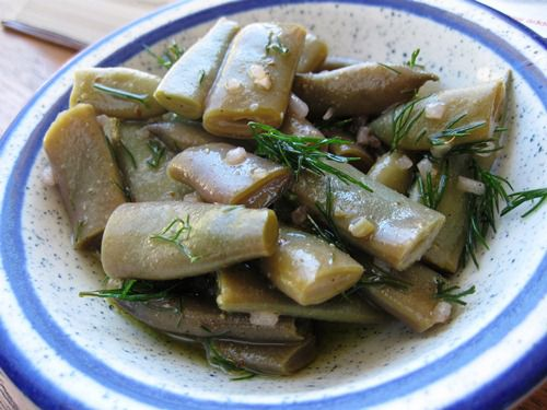 Green Beans with Dill in Vinaigrette