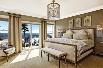 Living Room Curtains - Living room window treatment