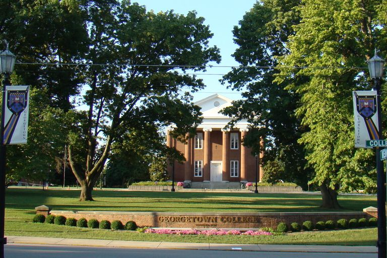 Giddings Hall at Georgetown College in Kentucky