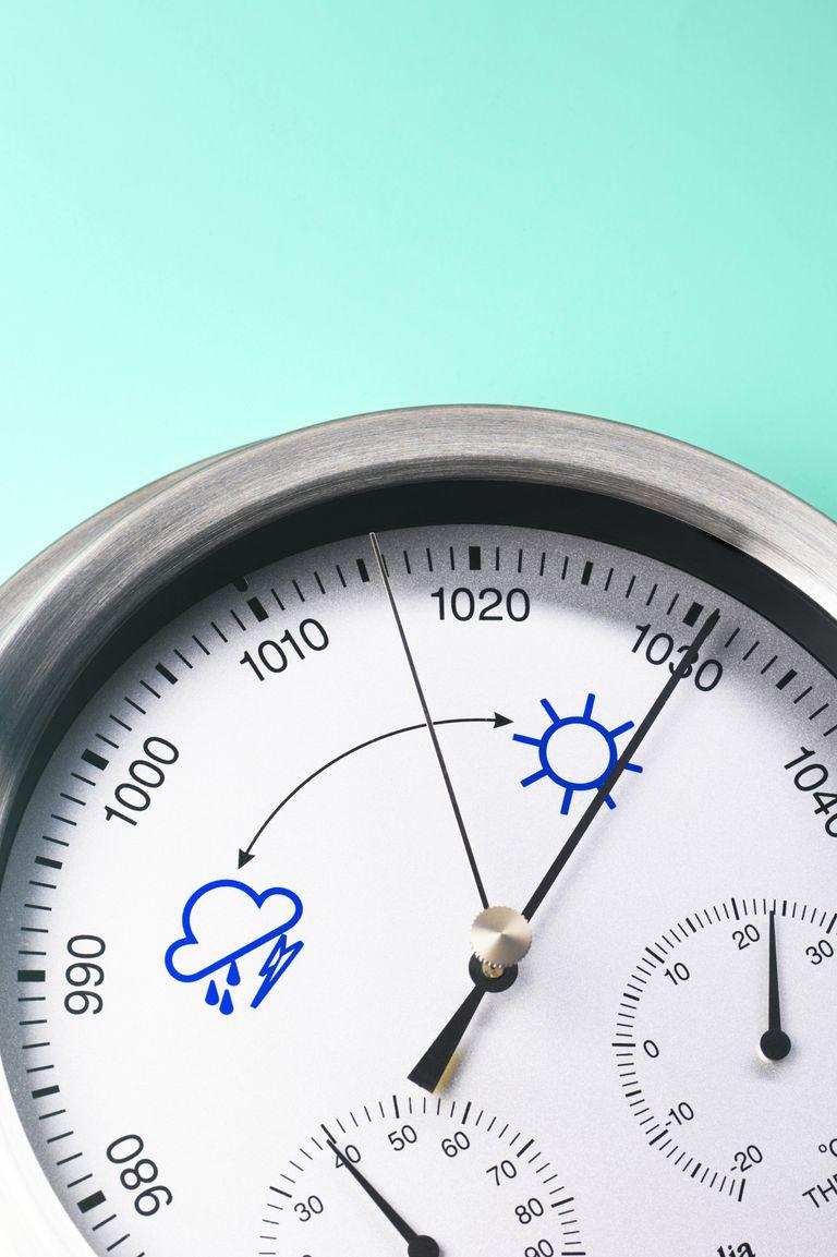 aneroid barometer high pressure