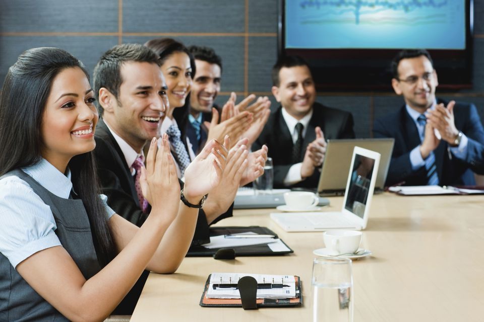 Incentives for employees at work can be as simple as public recognition.