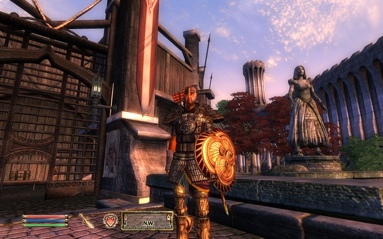 Screen Shot from Oblivion