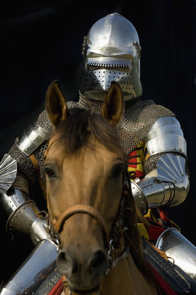 Medieval Times Knight and Horse