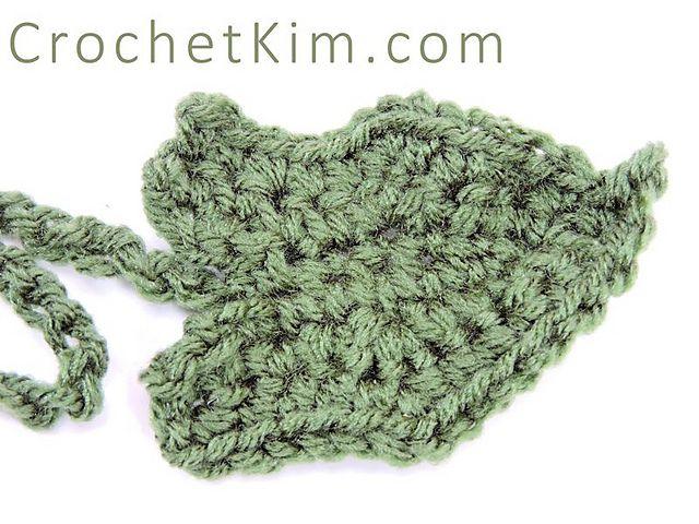 Pumpkin Leaf Free Crochet Pattern