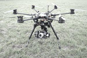 Hexacopter with Camera - Drone - UAV