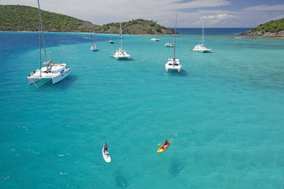 Kayaking and paddleboarding in the British Virgin Islands