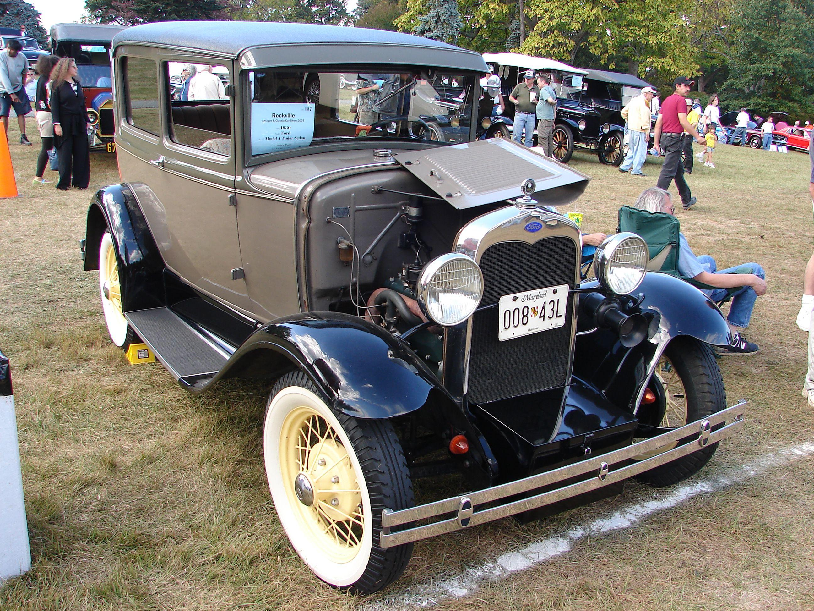 Rockville Antique Car Show 2017 - Rockville, Maryland
