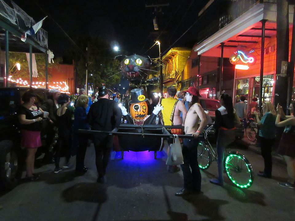 New Orleans Halloween 2016 Marigny Triangle