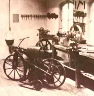 Gottllieb Daimler's 1885 Motorcycle