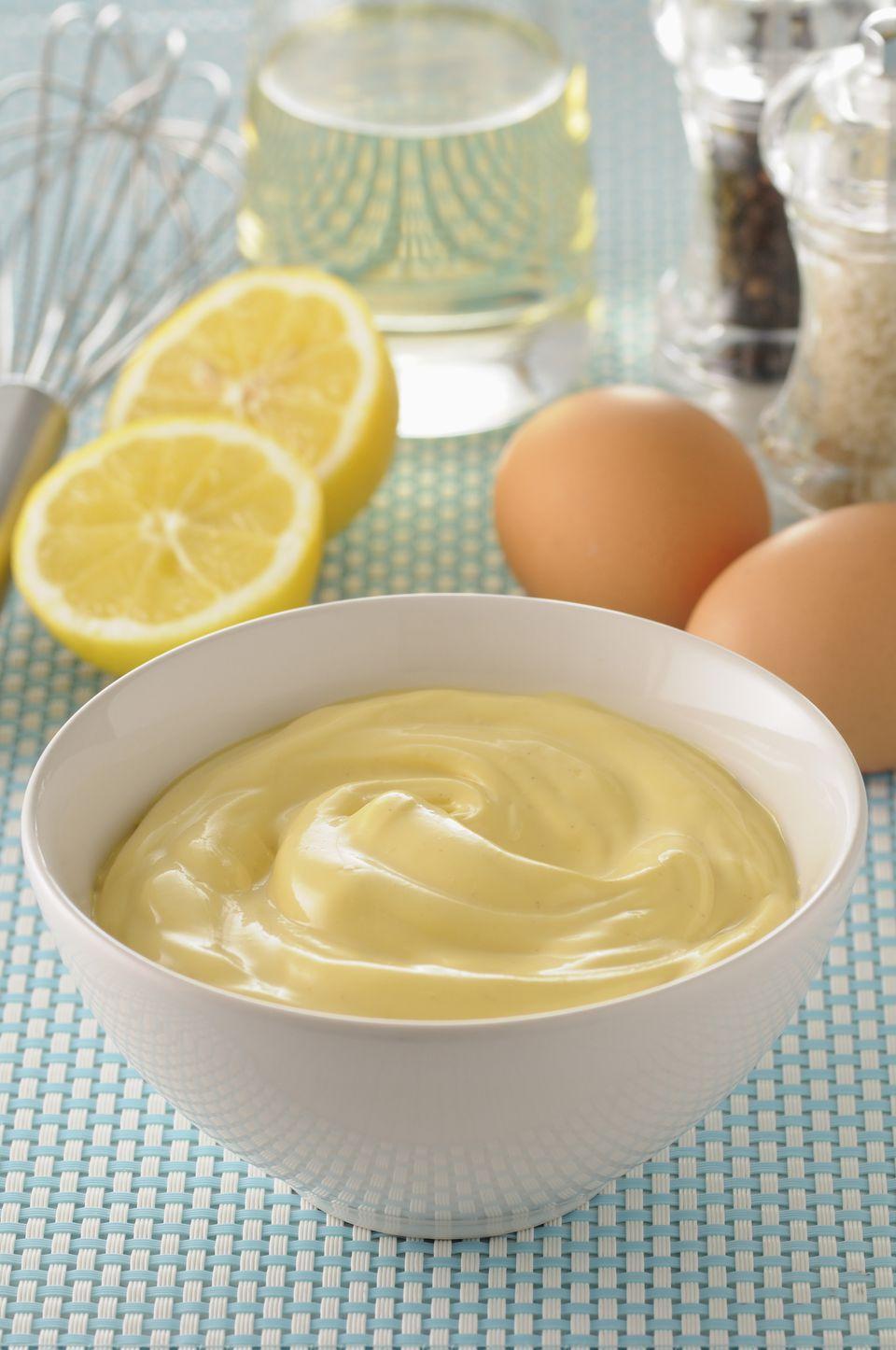 Homemade Gluten-Free Mayonnaise Image