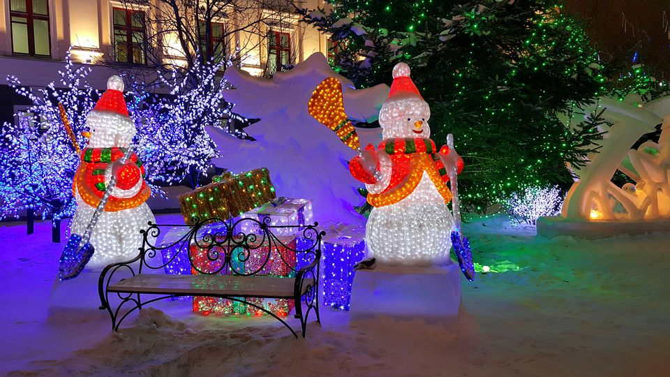 Outdoor Christmas Decoration Ideas In Pictures - Christmas decoration outdoor ideas