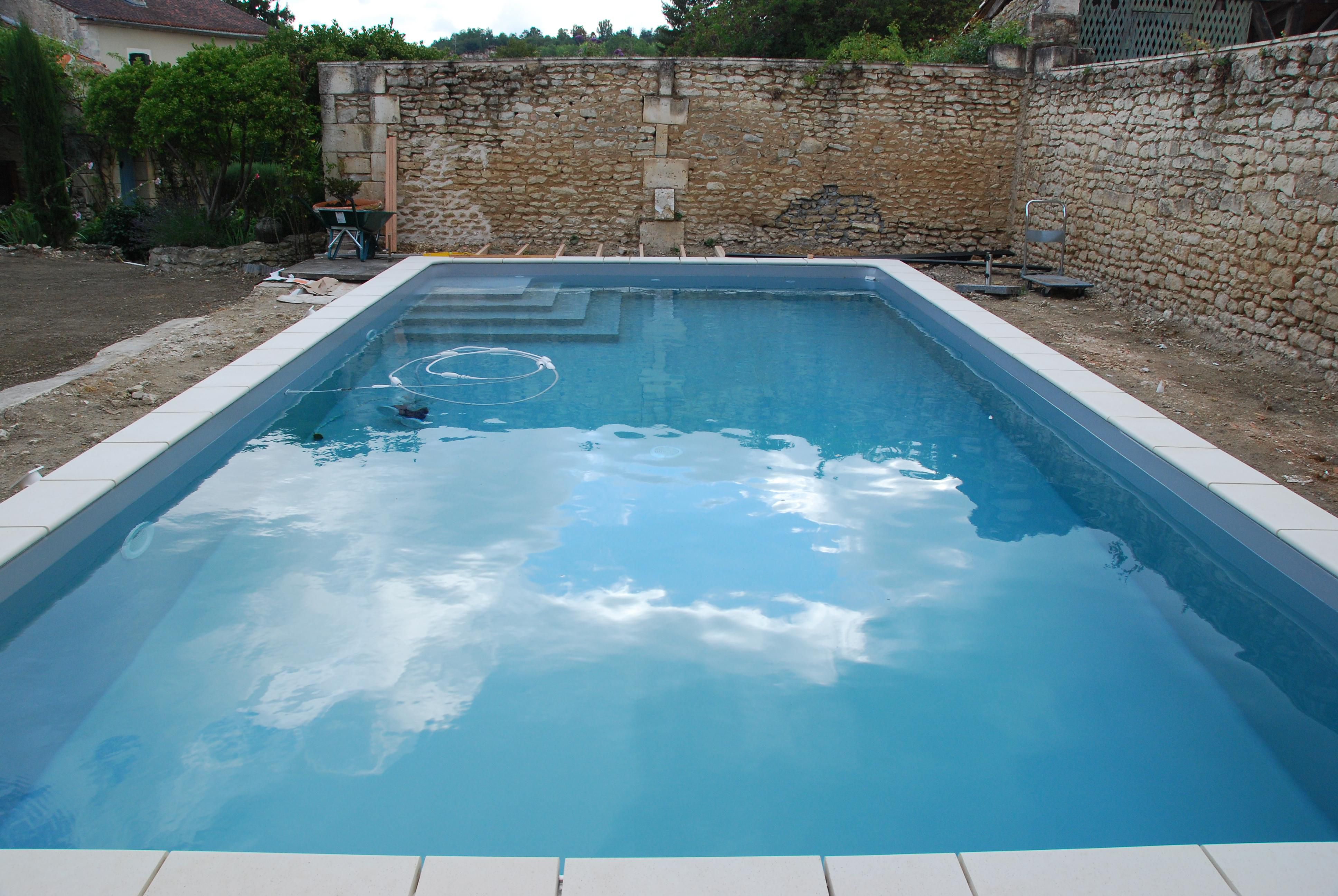 when not to drain or empty a swimming pool