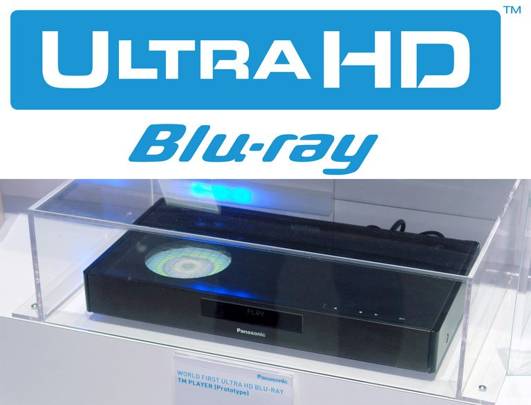 Ultra HD Blu-ray Logo with Panasonic Prototype Player