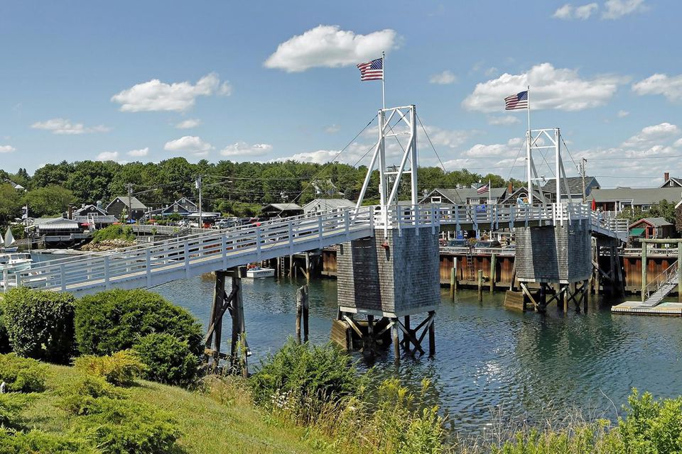 Ogunquit Harbor and swing bridge