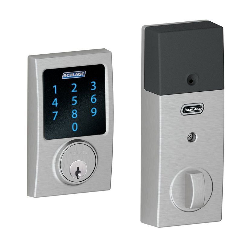 Best Keyless Entry For Techno Geeks: Schlage Century