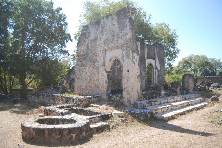 Great Mosque at Songo Mnara