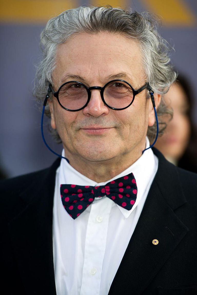 Director George Miller attends the European premiere of 'Happy Feet Two' at the Empire cinema Leicester Square on November 20, 2011 in London, England.
