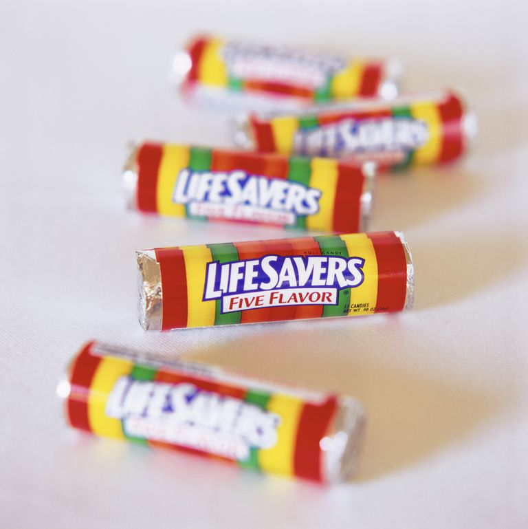 Rolls of LifeSavers Candy