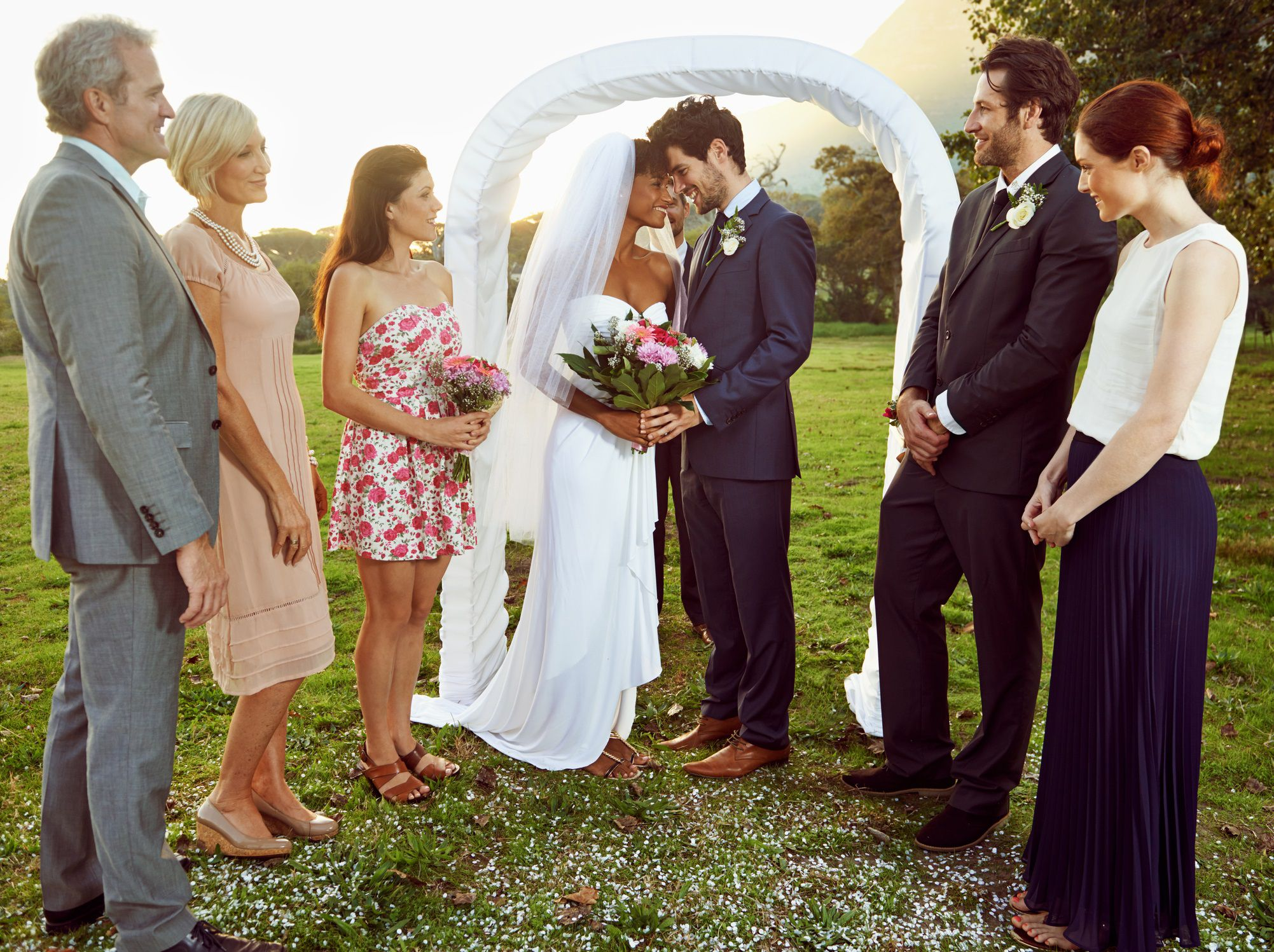 How much does it really cost to be in the wedding the right number of attendants for the size and style of your wedding ombrellifo Images