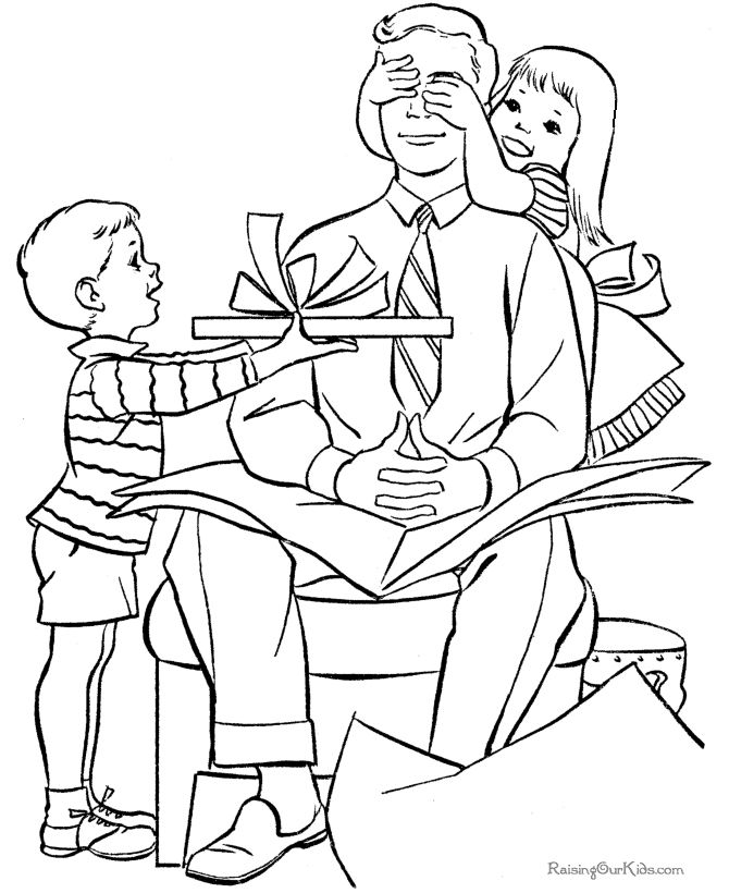 169 Free, Printable Father\'s Day Coloring Pages