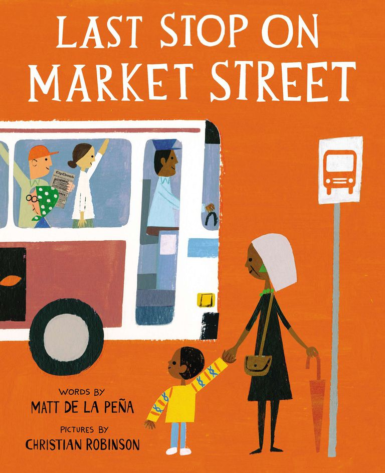 Last Stop on Market Street - picture book cover