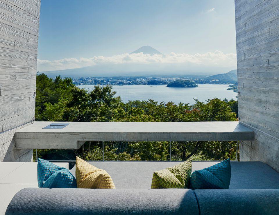 View of Fujiyama Mt. Fuji Japan