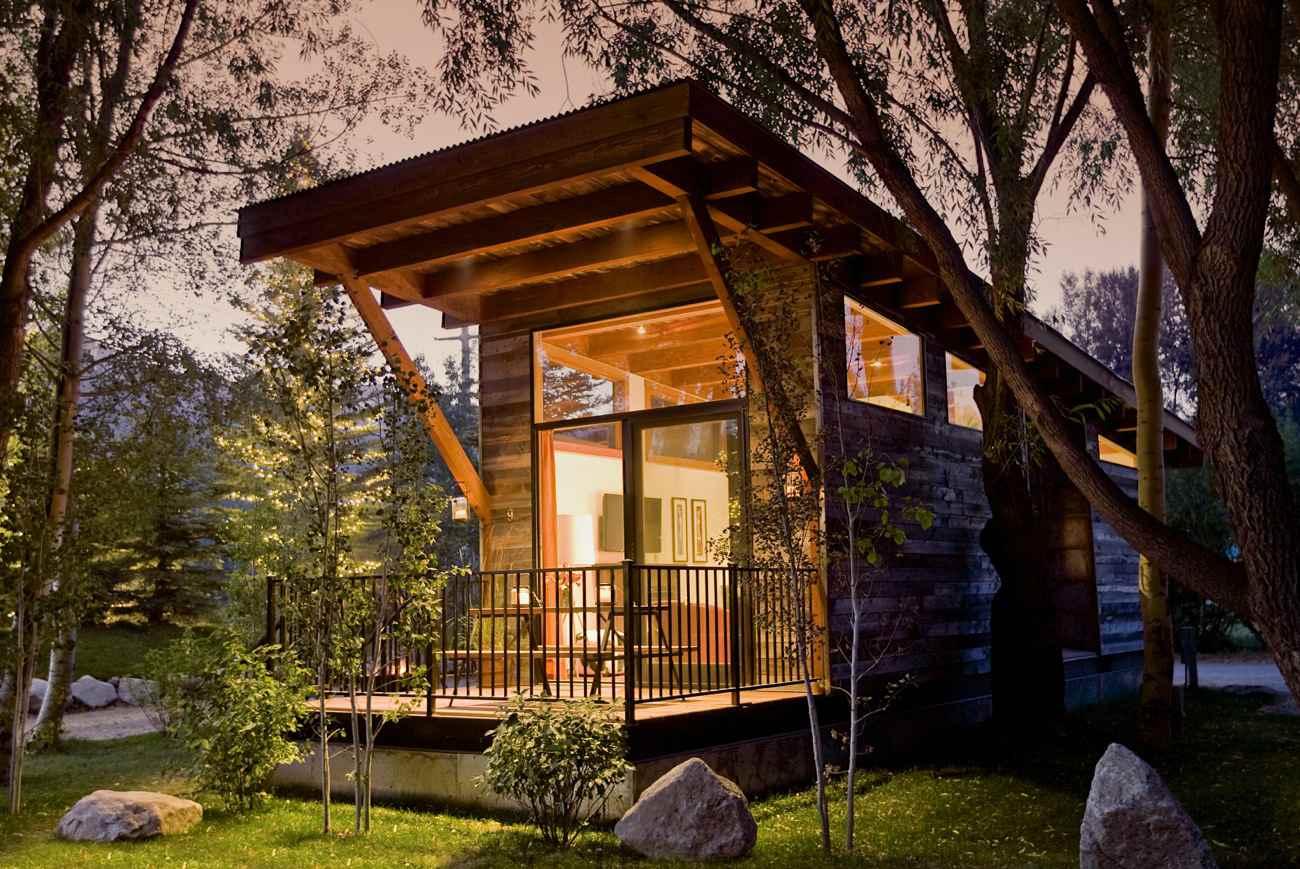 Alternative Hotels - Treehouses Yurts Tents Tipis Tiny Houses