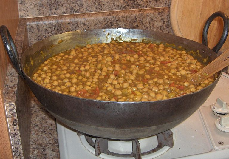 Chole (Spicy Chickpea Stew)