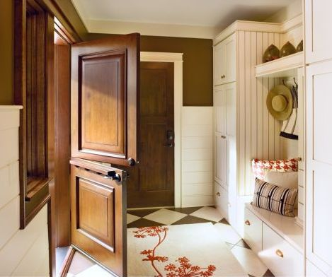 Dutch Doors For a Homey, Cottage Feeling