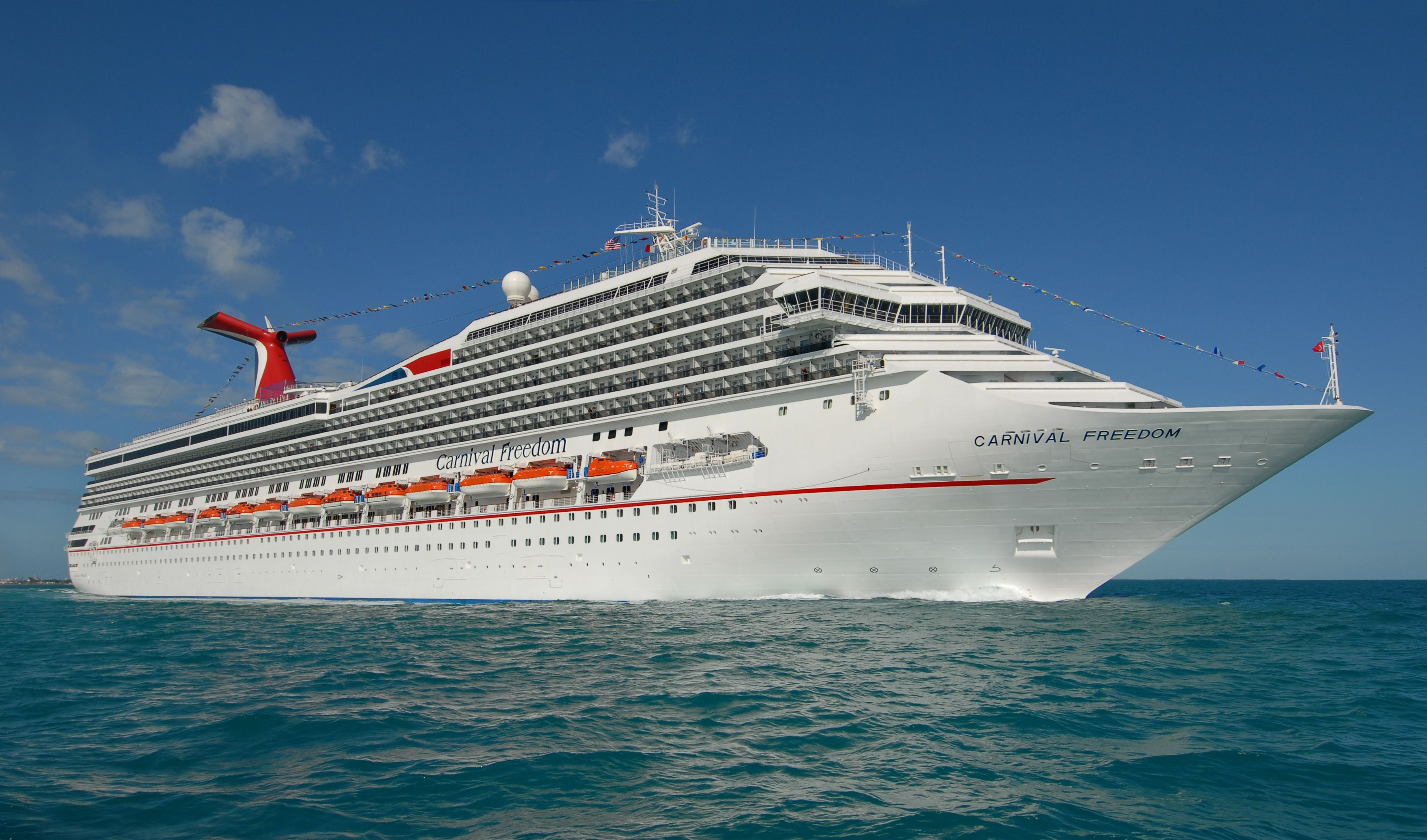 Carnival Cruise Ships And Where Theyll Take You - List of largest cruise ships