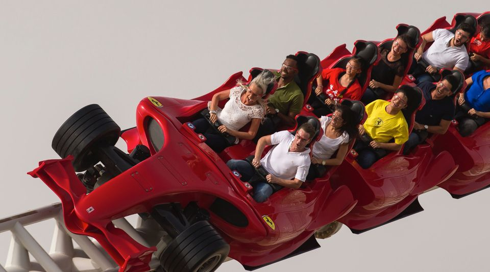 The Worlds Fastest Roller Coasters