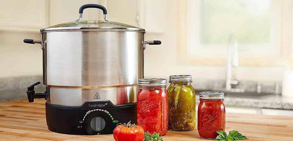 Ball® freshTECH Electric Water Bath Canner + Multi-cooker